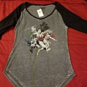 Justice League Wonder Woman Raglan Shirt
